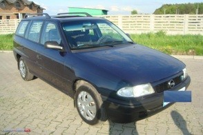 Opel Astra remont silnika